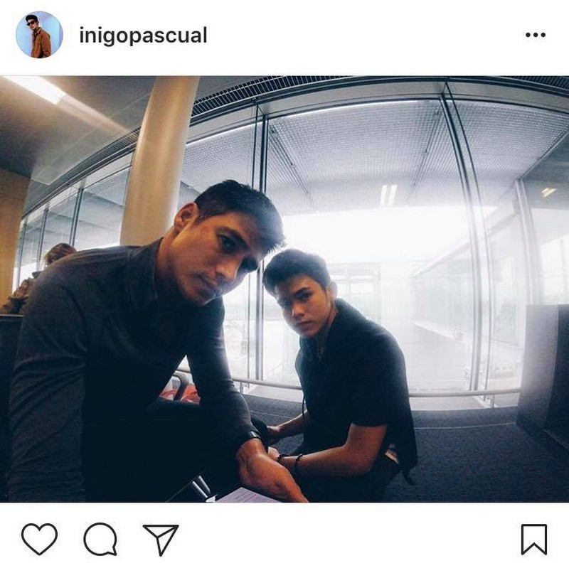 Like father, like son! Piolo and Inigo's best off cam moments