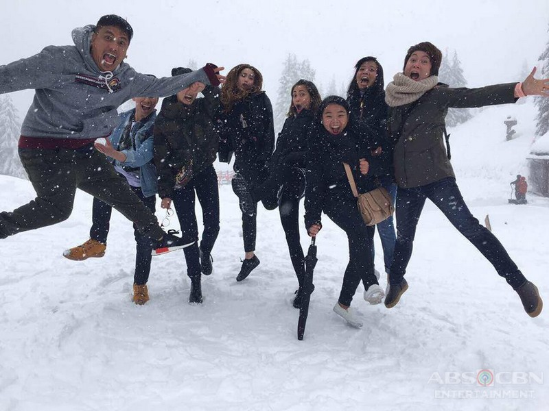 PHOTOS: Kim, Xian, Jodi, Arci abd Eric enjoying Canada
