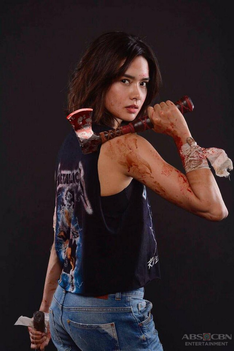 Erich Gonzales turns into an action star in these 6 photos