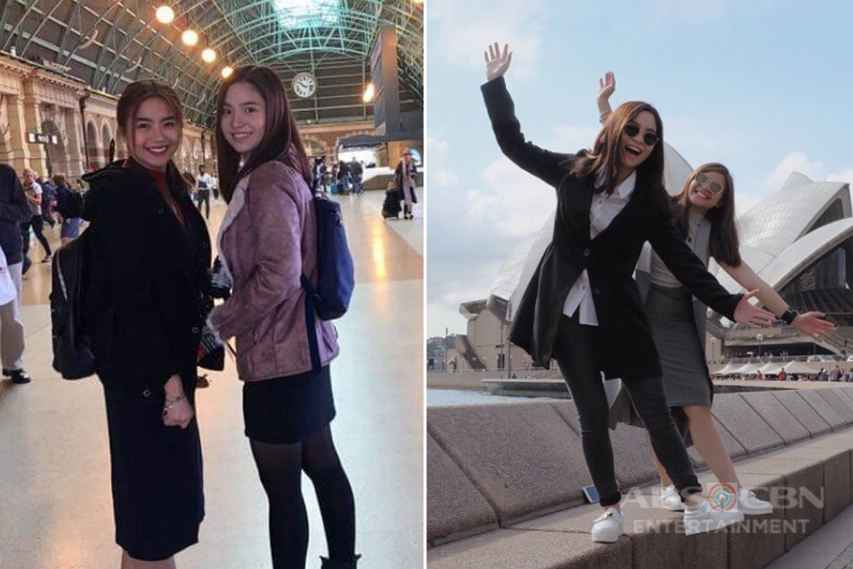 PHOTOS: Miles and Sharlene's 'beshie getaway' in Australia