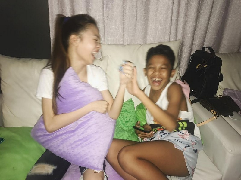 27 photos of AC and Awra that show they are siblings by heart