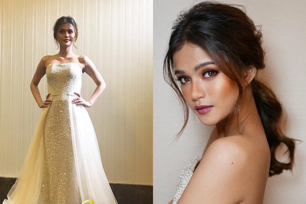 LOOK: Maris Racal stuns in bridal gown