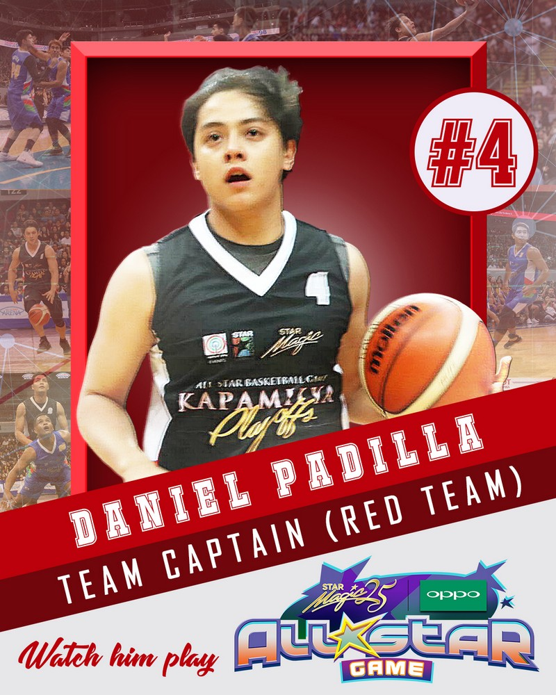 Star Magic All-Star Game 2017: Meet The Players of Team Daniel