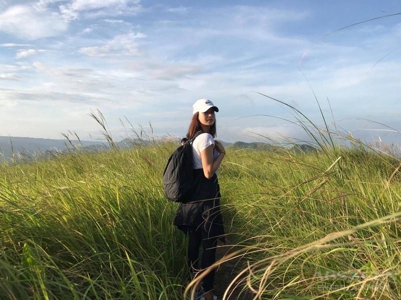 IN PHOTOS: Erich Gonzales spotted in Mt. Batolusong
