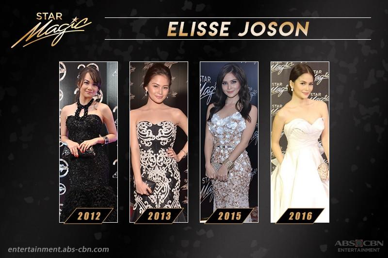 #RoadToStarMagicBall2017: Elisse Joson's Star Magic Ball Looks Through The Years