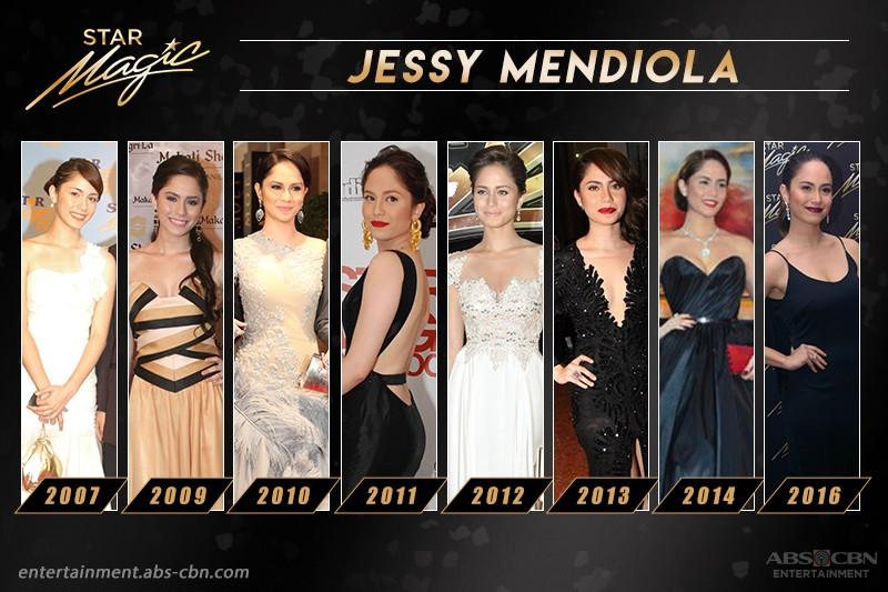#RoadToStarMagicBall2017: Jessy Mendiola's Star Magic Ball Looks Through The Years