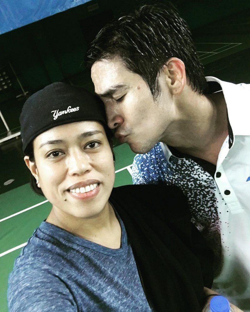 LOOK: Moi Marcampo with her Mr. Dreamboy for 18 years!