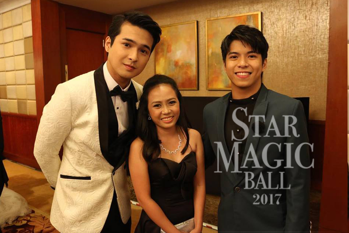 LOOK: A dream come true for first non-celebrity Star Magic Ball guest of honor