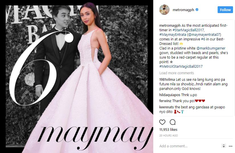 IN PHOTOS: Metro Magazine's Best-Dressed Ladies at the Star Magic Ball 2017