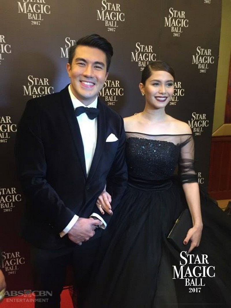 PHOTOS: Stolen Moments of Star Magic Ball 2017 Couple Of The Night Luis and Jessy