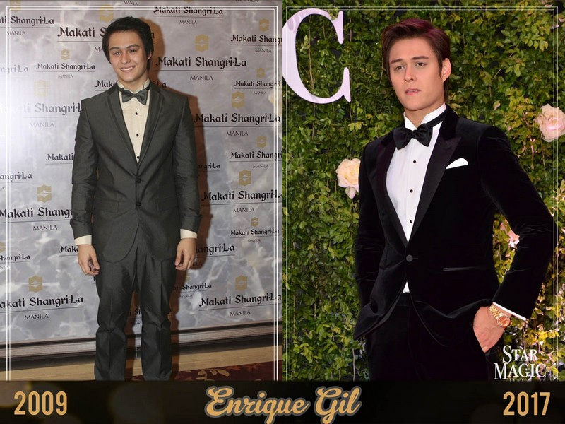 THEN & NOW: 15 Photos of celebs on their first Star Magic Ball red carpet vs. 2017!