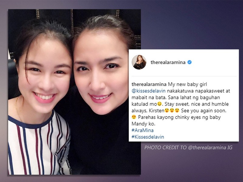 """LOOK: 10 Times that show Kisses found her """"sisters"""" for life in showbiz"""