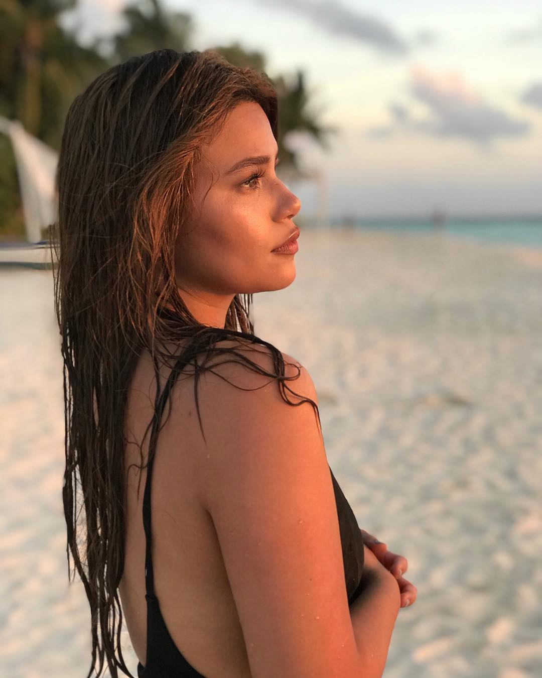 Morena Pride! 36 Times Denise Laurel Flaunted Her Gorgeous Skin!
