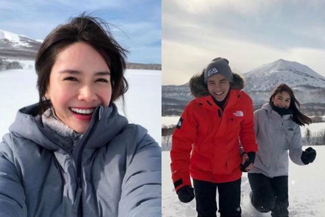 LOOK: Star Magic celebrities na nag-celebrate ng holidays sa labas ng bansa!