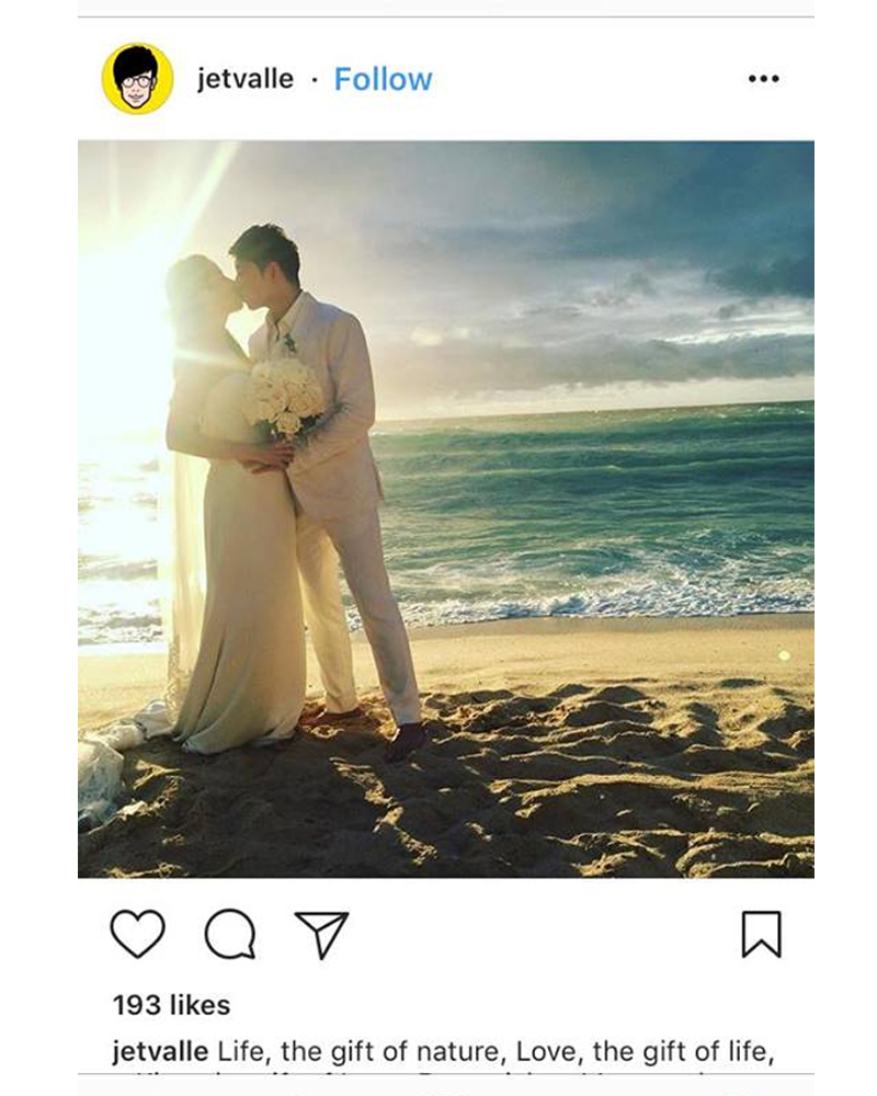 LOOK: Maxene Magalona stuns at her wedding in a simple white gown