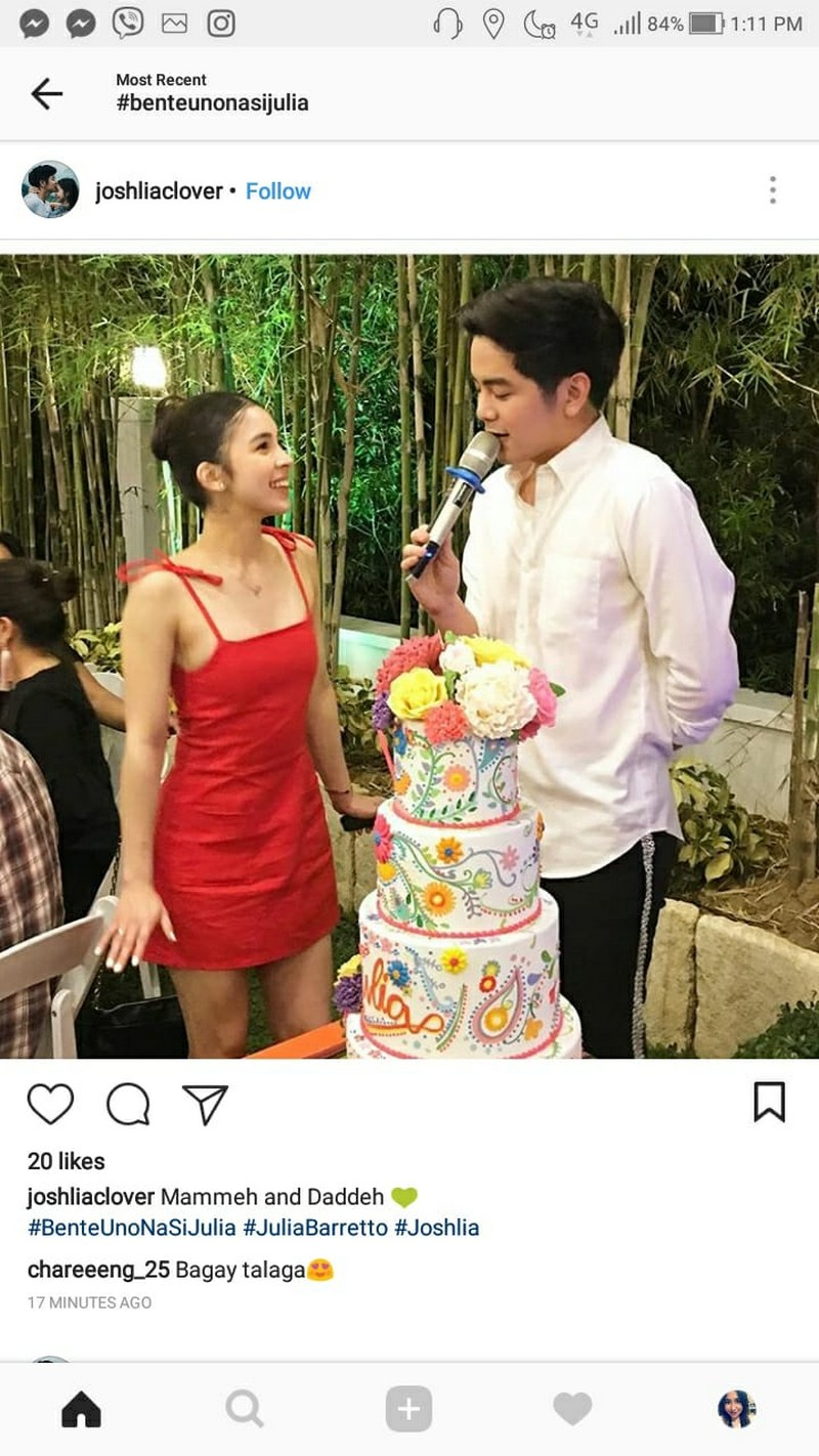 LOOK: Celebrities who were present at Julia's 21st birthday!