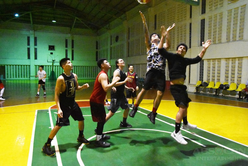 IN PHOTOS:  Daniel Padilla leads Team Red's Practice Game for All Star Game 2018
