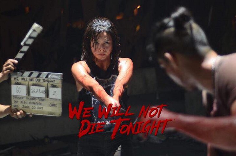 "IN PHOTOS: Pasilip sa paghahandang ginawa ni Erich Gonzales para sa ""We Will Not Die Tonight"""