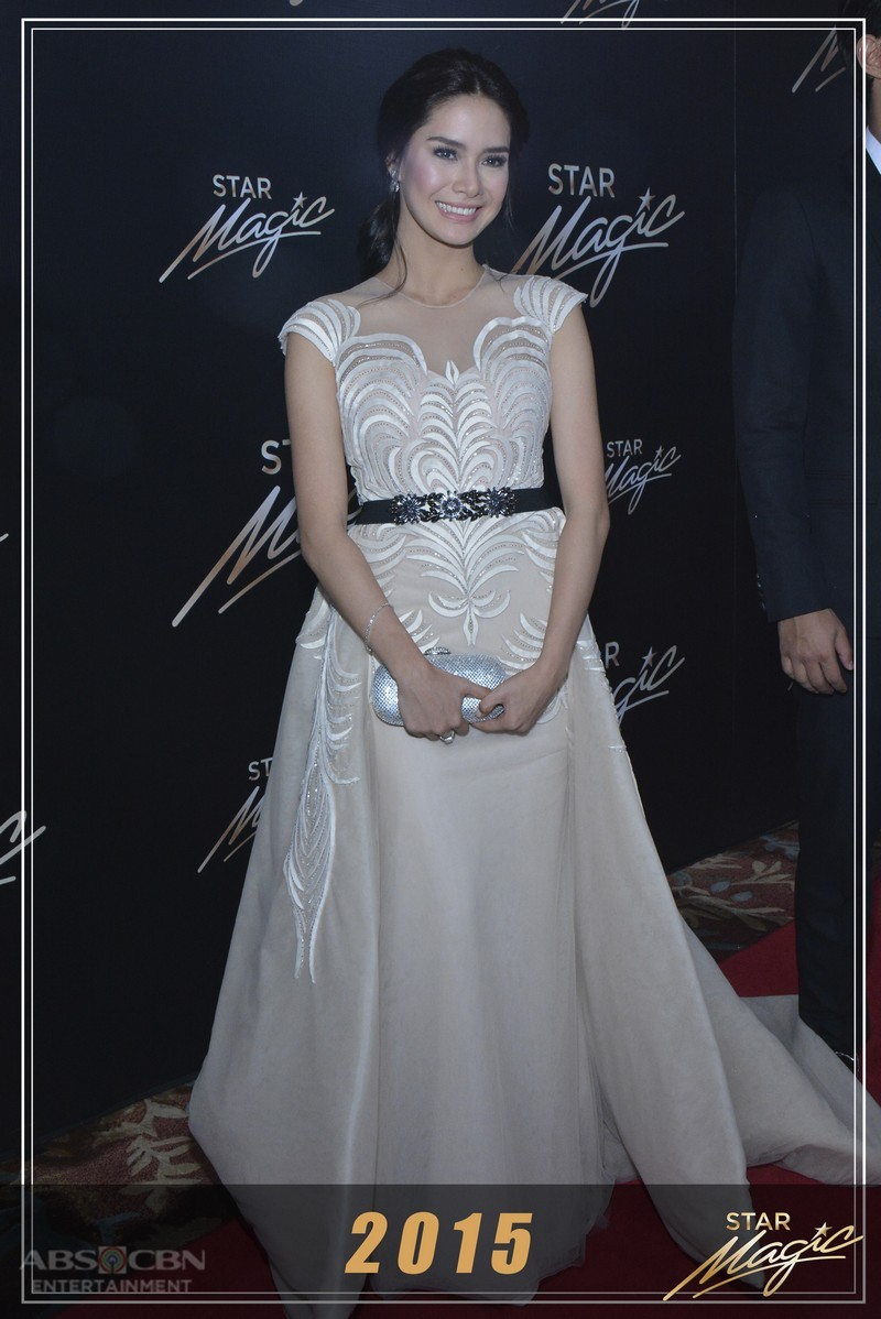 Erich Gonzales' stunning looks through the years at the Star Magic Ball