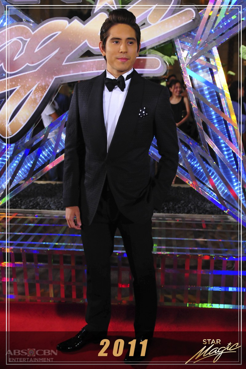 How Gerald Anderson charmed us with his debonair Star Magic Ball looks through the years