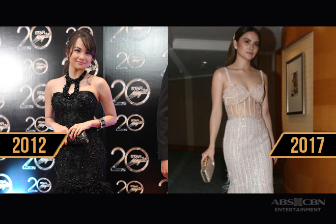 Elisse Joson mesmerizes with dainty, stylish looks over the years at the Star Magic Ball