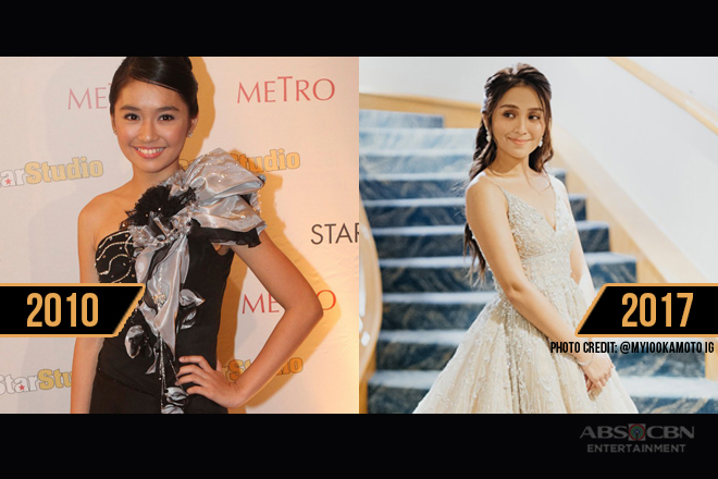 From preppy to queenly: Kathryn Bernardo's fashion evolution in the Star Magic Ball through the years
