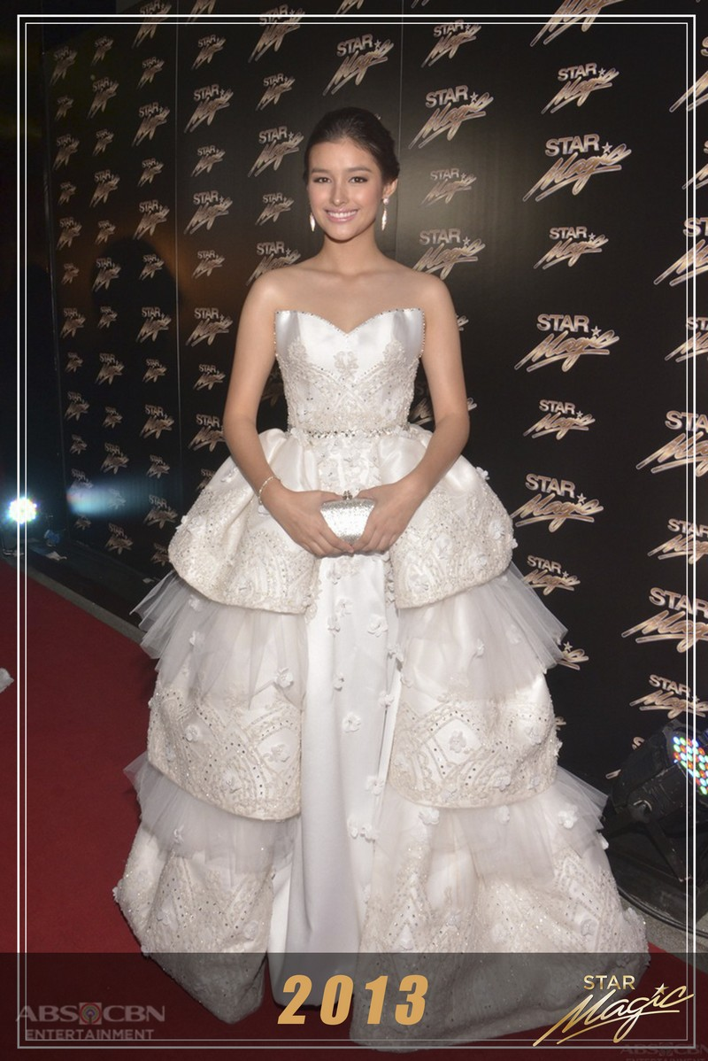 How Liza Soberano left us stunned each year on the Star Magic Ball red carpet
