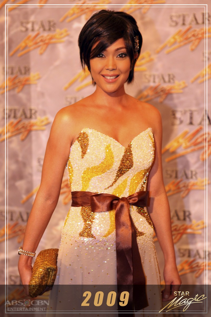 Jodi Sta. Maria oozes with elegance through the years at the Star Magic Ball