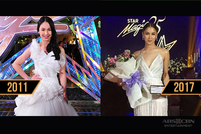 Julia Barretto's impeccable style in the annual Star Magic Ball