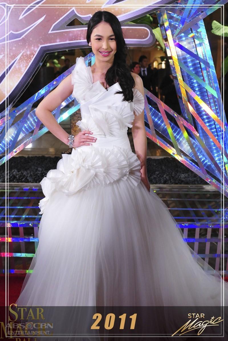 Julia Barretto's impeccable style in the annual Star Magic Ball