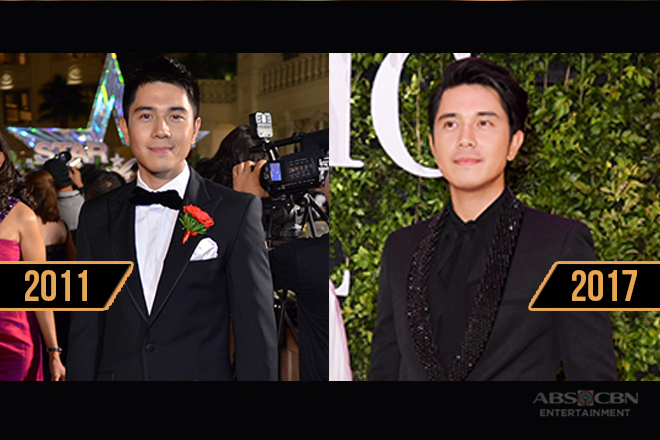 Paulo Avelino's swoon-worthy looks in the Star Magic Ball through the years