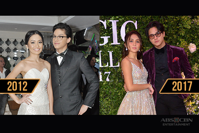 KathNiel's Star Magic Ball Looks Through The Years