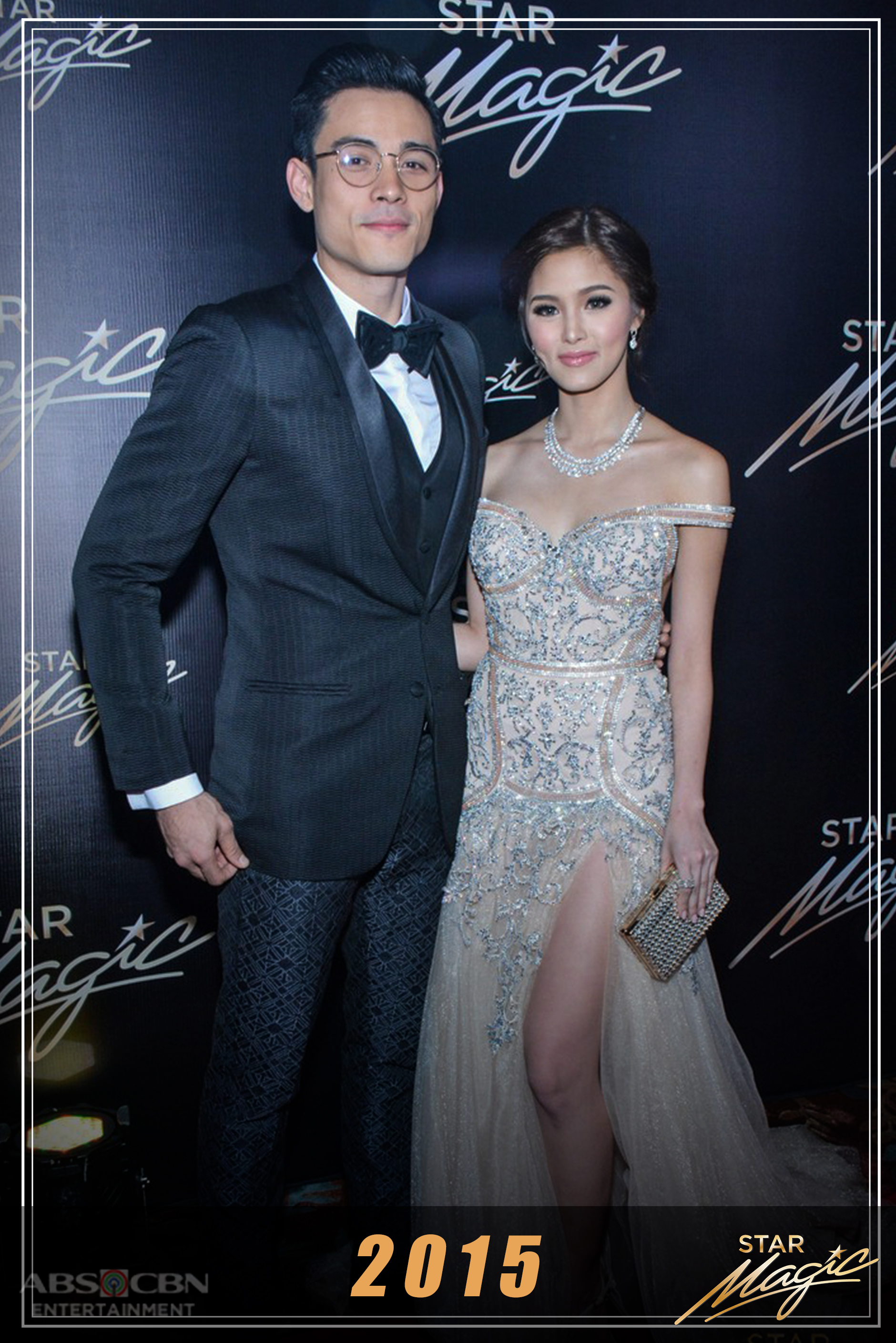 How KimXi walked as a sophisticated pair in the annual Star Magic Ball