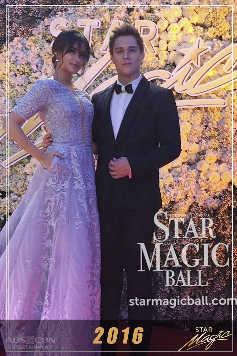 LizQuen's dazzling, majestic appearances together at the Star Magic Ball