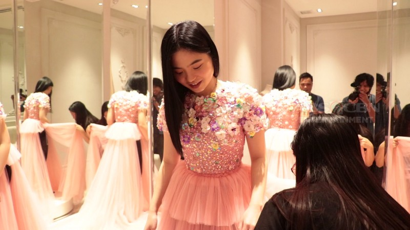 ABS-CBN BALL 2018: Sharlene's gown to show her feminine and edgy side