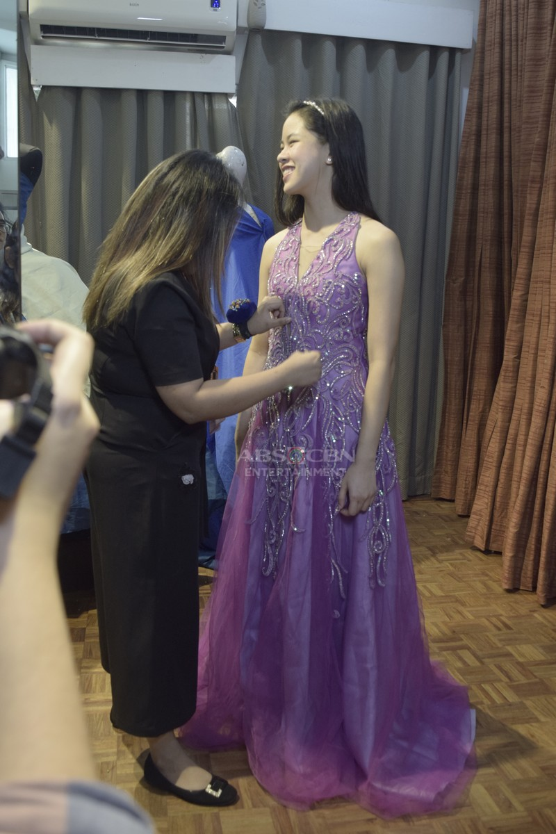 LOOK: Kisses Delavin pretty in pink Francis Libiran gown at ABS-CBN Ball 2018