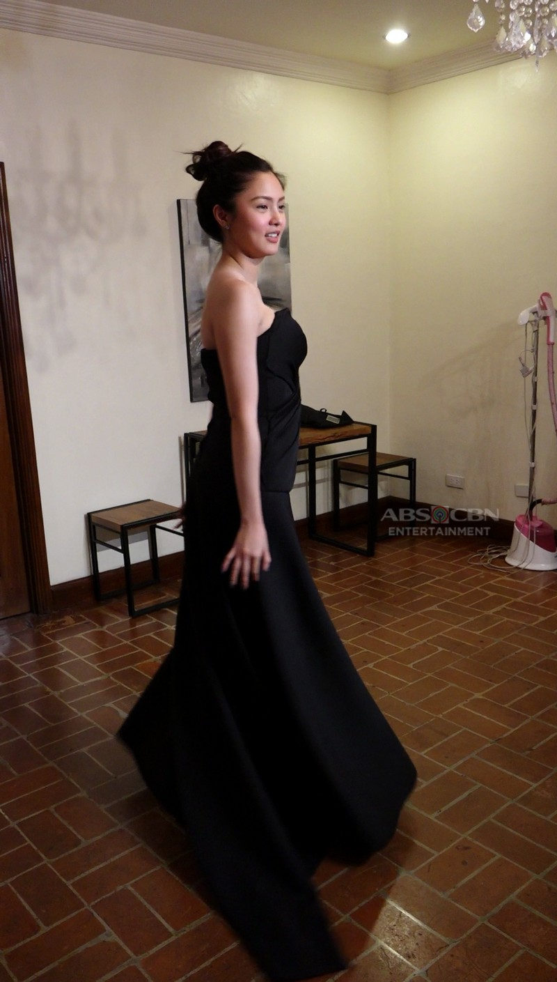 PHOTOS: Kim Chiu at gown fitting for ABS-CBN Ball 2018
