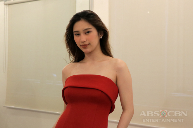PHOTOS: Isabela Vinzon at gown fitting for ABS-CBN Ball 2018