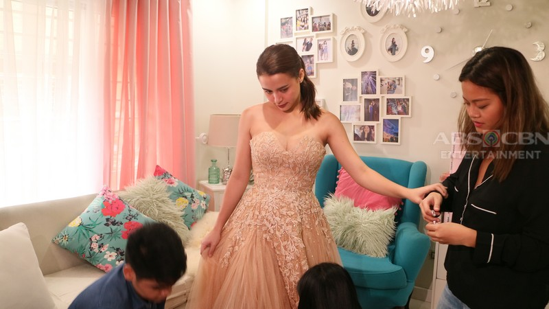 PHOTOS: Yassi Pressman at Gown Fitting for ABS-CBN Ball 2018