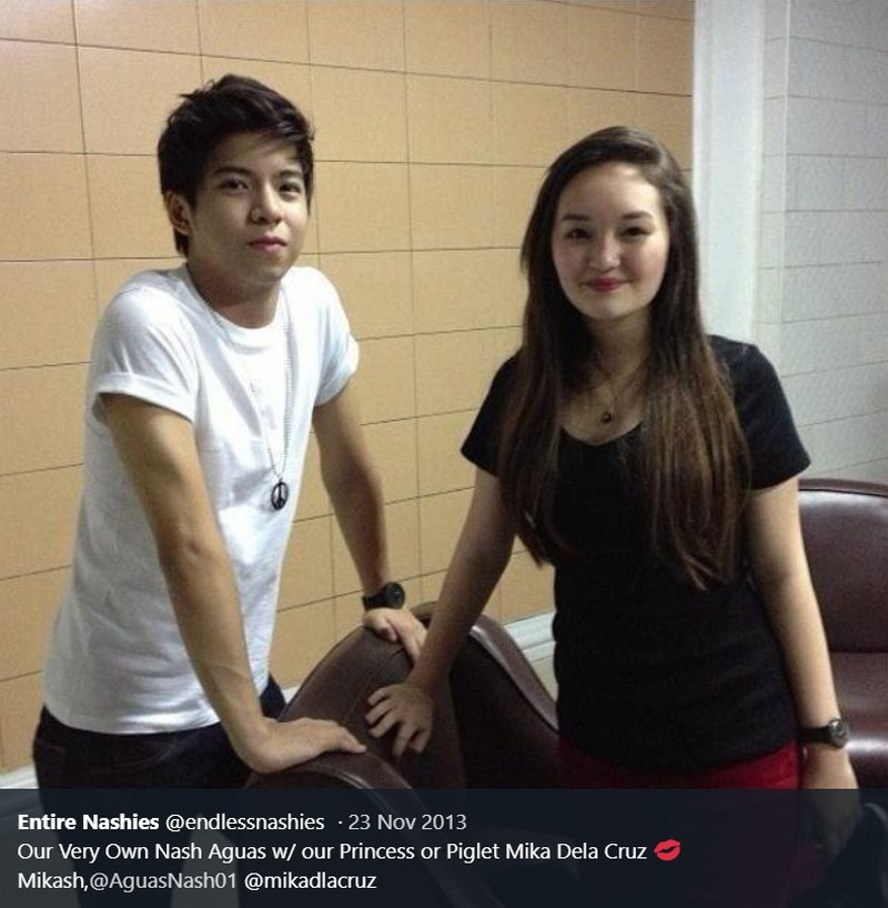 LOOK: 33 Photos of Nash Aguas with his childhood crush!
