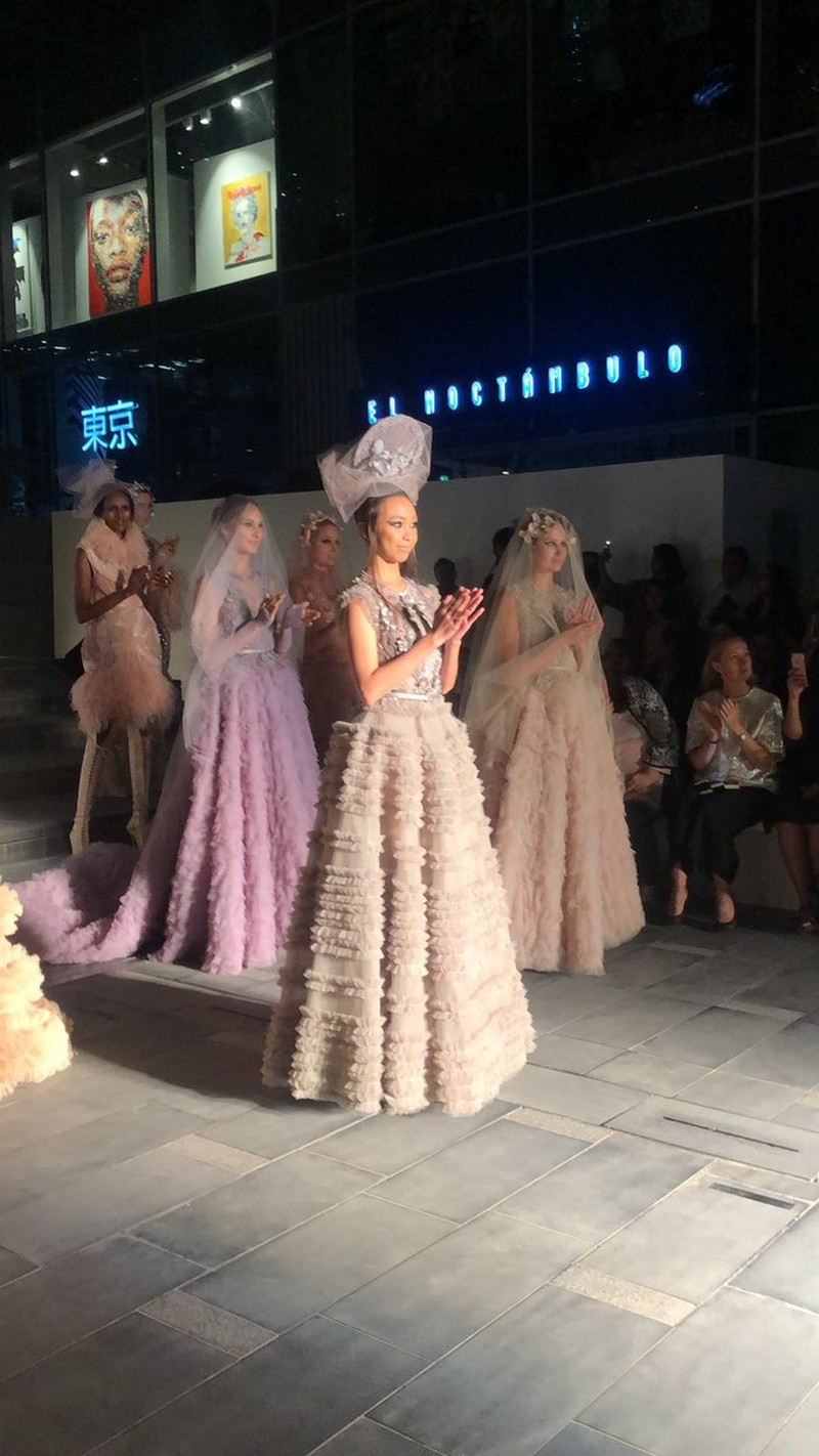 Dream come true! Here are photos of Maymay's first international runway walk in Arab Fashion Week