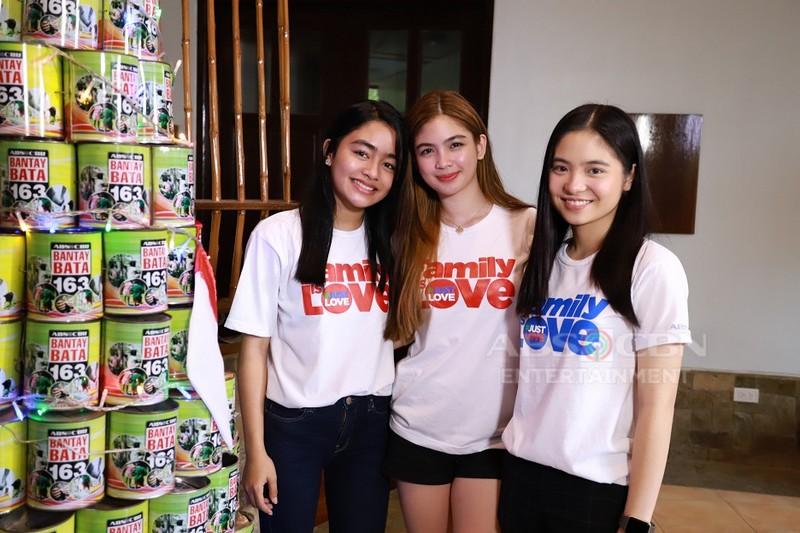 Kapamilya stars welcome first batch of kids to the Bantay Bata 163 Children's Village