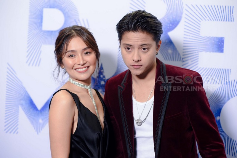 Reel & Real-life celebrity couples' stolen moments at the #PureMagic2019 'Blue' carpet