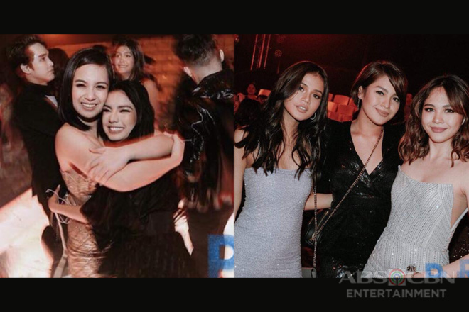 SPOTTED: All-star celebs having fun at Star Magic's New Year party