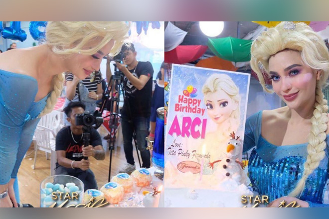 LOOK: Arci celebrates her 30th birthday as Queen Elsa