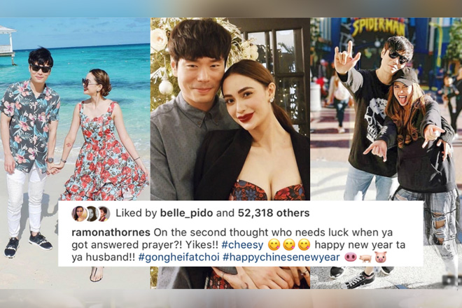 "Lucky in love! Just 32 photos of Arci with her ""husband"""