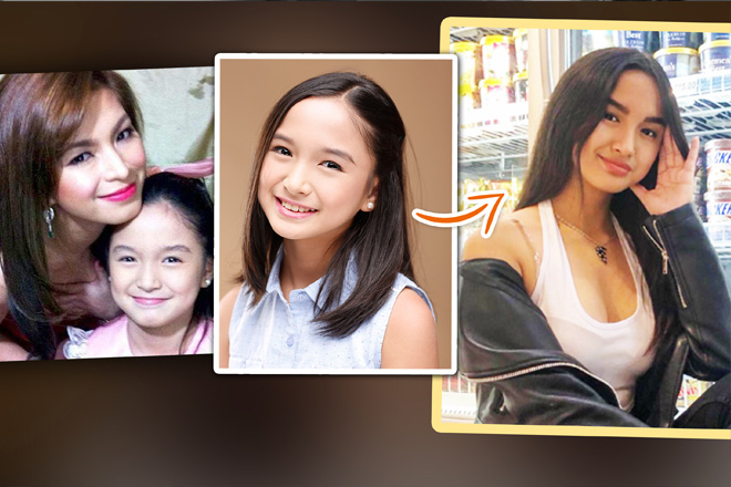 Remember this beautiful child star? Alyanna Angeles is now all grown up!