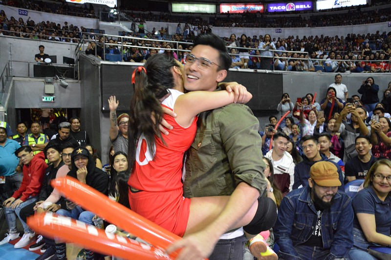 Kapamilya stars spotted supporting their loved ones at the All Star Games 2019