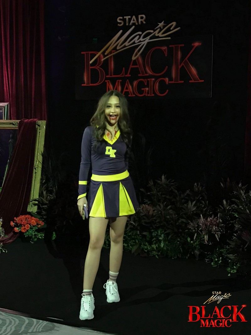 PHOTOS: Unusual Halloween outfits that turned heads at the Black Carpet of Star Magic Black Magic