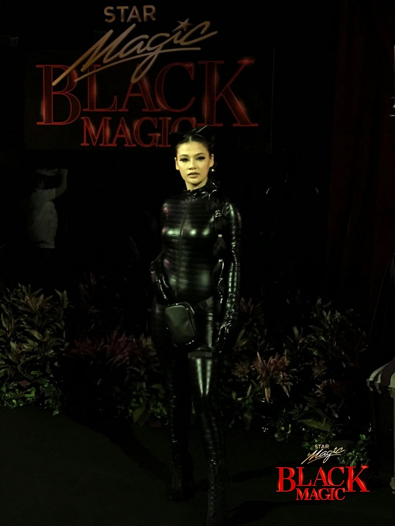WHO SLAYED IT BETTER? Celebrities wearing similar Halloween outfits at the Star Magic Black Magic